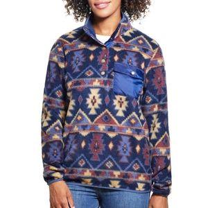 Weatherproof Vintage Aztec Fleece Pullover NEW XL